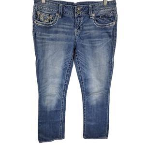 Vigoss The New York Slim Boot Jeans Sz 11/12 L33